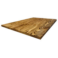 """36""""x 30""""x 1.5"""" Reclaimed Wooden Rectangular Dining Table Top Style Rustic"""