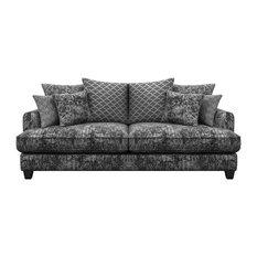 Florence 3-Seater Sofa, Coal Grey