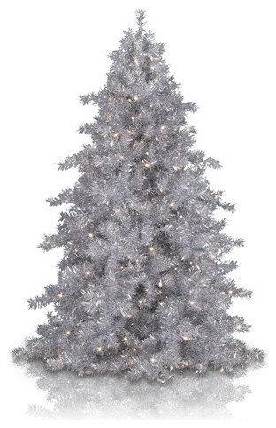 Tinkerbell Silver Christmas Tree   Christmas Trees