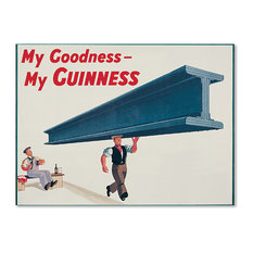 "Guinness Brewery 'My Goodness My Guinness XVII' Canvas Art, 35""x47"""