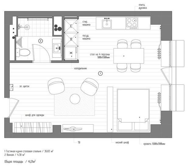 Внутренний план by INT2architecture