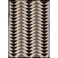 """Jaipur Living Marquise Indoor/Outdoor Geometric Black/Cream Area Rug, 7'11""""x10'"""