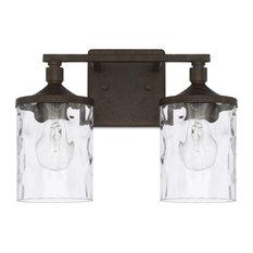 Collier 128821Ub-451 2-Light Vanity, Urban Brown