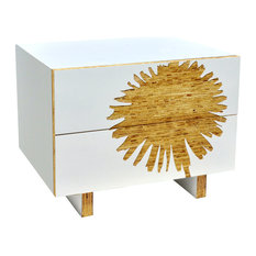 Dandelion Graphic Nightstand Modern By  Iannone