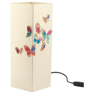 Checia Butterflies Paper Table Lamp