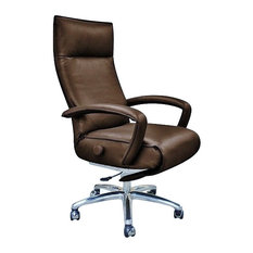 lafer recliners gaga executive recliner by lafer recliners brown