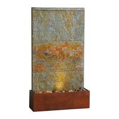 floor outdoor fountains. Kenroyhome.com - Stream Floor/Wall Fountain, Slate And Copper Outdoor Fountains Floor 0