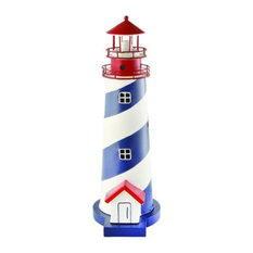 Swirling Electric Lighthouse Ornament