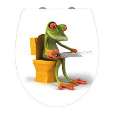 Wenko - Mr Frog Toilet Seat - Toilet Seats