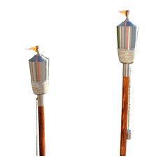 starlite lahaina tiki torch set of two tiki torches