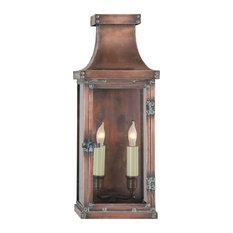 Bedford Medium 3/4 Lantern, Natural Copper