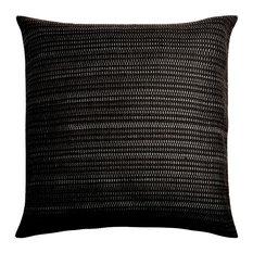 Auste Eclectic Cushion Cover, Black, 50x50 Cm