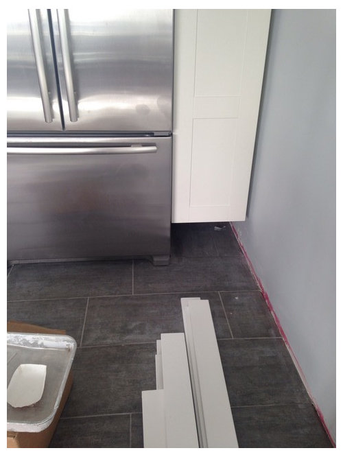 Gap Between Wall Cabinet And Floor Picture Will Explain