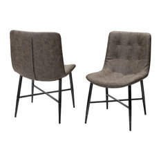 Mercana Barrow, Set of Two, Dining Chair, Dark Brown