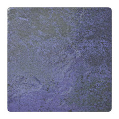 "6""x6"" Oceano Porcelain Floor and Wall Tile, Blue Laguna, 30"