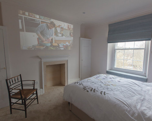 Projector Tv Design Ideas Remodel Pictures Houzz