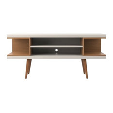 Utopia 53.14-inch TV Stand With Splayed Wooden Legs