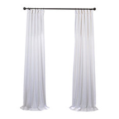 "Residence - Ibiza Linen Panel, White, 50""x108"" - Curtains"