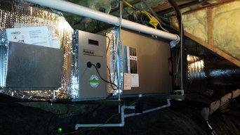 Morris Furnace Heat Pump Job