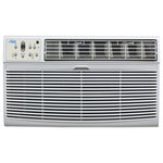 Arctic King - Arctic King 12K BTU Thru Wall Air Conditioner - Ideal for cooling large rooms or offices, the AKTW12CR62 thru the wall air conditioner packs quite a punch and can easily adjust the temperature in a 550 square foot area. With 12,000 BTU of cooling you'll enjoy full comfort in all seasons. Featuring electronic three-speed remote controls with LED display, four way adjustable air direction to ensure your cool air is being directed to exactly where you need it. Throw in the convenience of a full-featured remote control features that you'll grow to love and comfort you should come to expect-trust Arctic King to deliver on its promise of excellence once again.