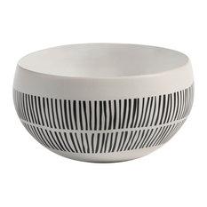 """""""Marquesa"""" 7.5"""" Diameter Ceramic Decorative Bowl"""