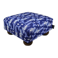 Beach Style Ottomans And Footstools Houzz