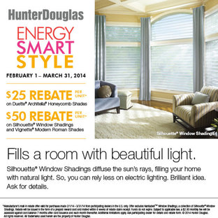 Hunter Douglas Promotions 2014
