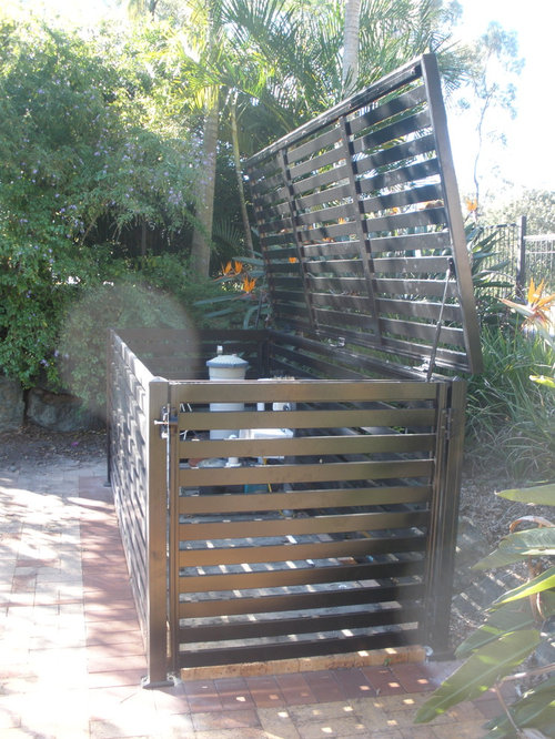Landscaping Ideas To Hide Pool Equipment find this pin and more on five seasons landscape construction wwwfiveseasonslccomour company hide unsightly pool equipment Design Ideas For A Contemporary Landscape In Brisbane