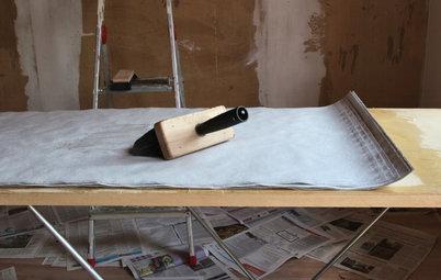 Decke tapezieren: Tipps und inspirierende Ideen