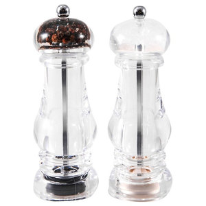 Acrylic Windmill Salt and Pepper Shakers, Set of 2
