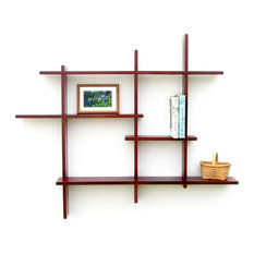 Contemporary Display And Wall Shelves Houzz