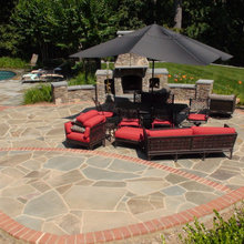 Back yard Patio - Clifton, Virginia