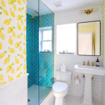Beach House Guest Bathroom Tiles
