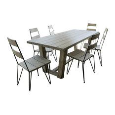 Emile Scandi 7-Piece Outdoor Dining Set