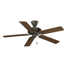 Contemporary Ceiling Fans With Cherry Blades