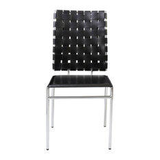 Fantastic Woven Contemporary Dining Chairs Houzz Gmtry Best Dining Table And Chair Ideas Images Gmtryco