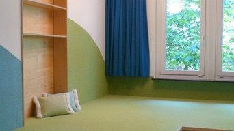Kindergarten Pfarrstraße Schlafpodest