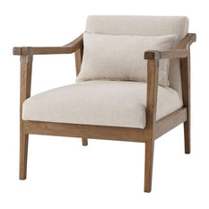 Theodore Alexander Bryson Upholstered Chair Set of 2