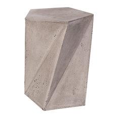 Modrest Fawn Modern Concrete Stool