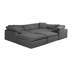 Groovy Extra Deep Sectional Sofas Houzz Pdpeps Interior Chair Design Pdpepsorg