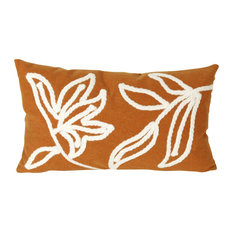 "Windsor Orange Pillow - 12""X20"""