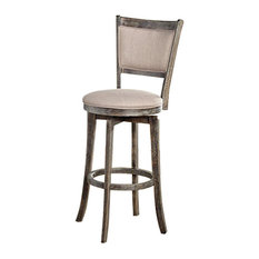 French Country Swivel Bar Stools Amp Counter Stools Houzz
