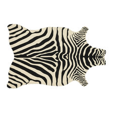 """Loloi Zadie Collection Rug, Black and Ivory, 3'6""""x5'6"""""""