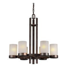 Forte Lighting 2548-06-32 6LT Chandelier