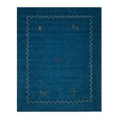 Safavieh Himalaya Collection HIM583 Rug, Blue, 10' X 14'