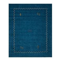 """Himalaya Hand Loomed Rug, Blue, 8'9""""x12'"""