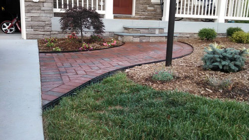 Remove Paver Edging
