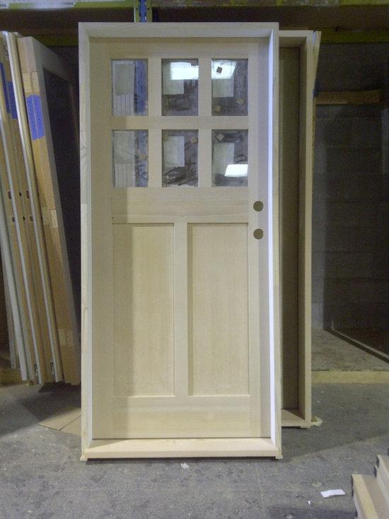 Doorex Custom Built  Showroom Doors - Shaker front door