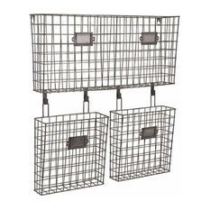 Decorative Wall File Organizer shop industrial wall file organizer and pocket products on houzz