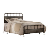 Grayson Bed, Rails Included, King